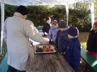 9.r ja 5.r lapsed külastavad Seenetädi ja Metsamoori talu