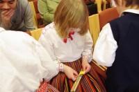 Laste folklooripäev Võru Kreutzwaldi Gümnaasiumis