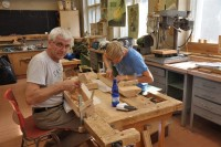 Väikekandle valmistamise laager 13.-17.08.2012