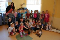 Lastel külas teraapiakoer Jeta 2.r ja 12.r 20.02.2017
