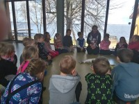 """Õppekäik Võrtsjärve looduskeskusesse, õppeprogramm """"Kalad"""" 09.05.2017"""