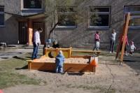 Orienteerumismäng peredele lasteaia õuel 24.04.2014