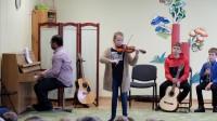 Rahvusvahelise muusikapäeva kontsert - külas Võru muusikakooli õpilased 1.10.2019