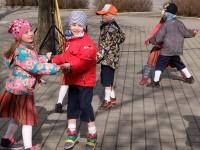 Tantsupäev Võru Kesklinna pargis 29.04.2015