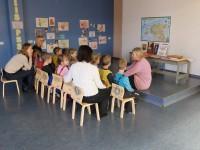 """Lasteraamatukogu külastus teemal """"Kalevipoeg"""" 7.r 17.11.2106"""