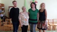 Külas endine vabatahtlik Verena (paremalt teine) 22.08.2017