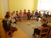 Ettelugemispäev, külas Kesklinna Kooli 5. klassi lapsed 21.04.2017