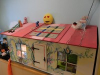 Näitus käsitöönukkudest ja teistest ise valmistatud nukkudest ja mängudest 14.03.2016