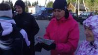 Lasteaia töötajate terviseüritus orienteerumine Pikakannus 25.04.2013