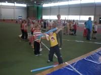 Lasteaedadevaheline spordipäev Võru Spordikeskuses 13.05.2011 (9.r ja 5.r)