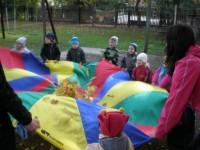 1.r ja 5.r nooremate laste spordipäev lasteaia õuel 23.09.2011