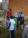 Võru linna lasteaedade koolieelikute õuesõppepäevad Päkapiku loodusrajal 26.-28.09.2011